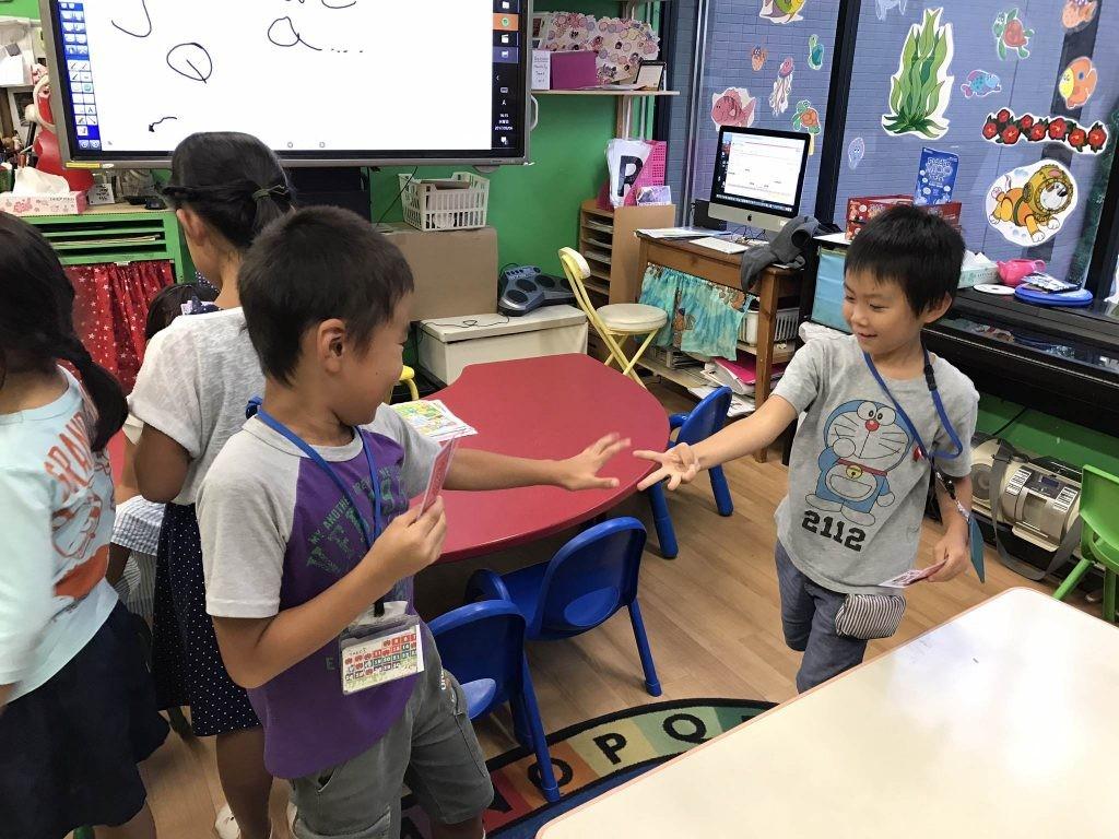 府中|英会話|小学生クラス|Inter Jr.9月のモチベーションウィーク