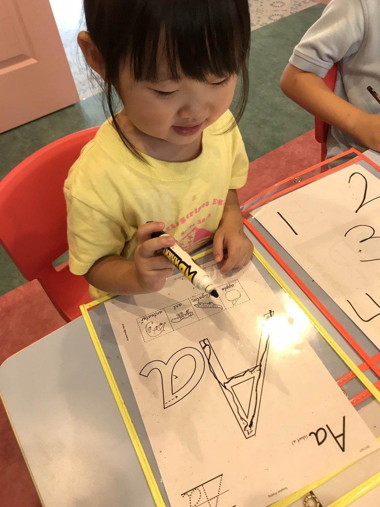 国分寺|英語保育・英語学童|お預かりの日の様子