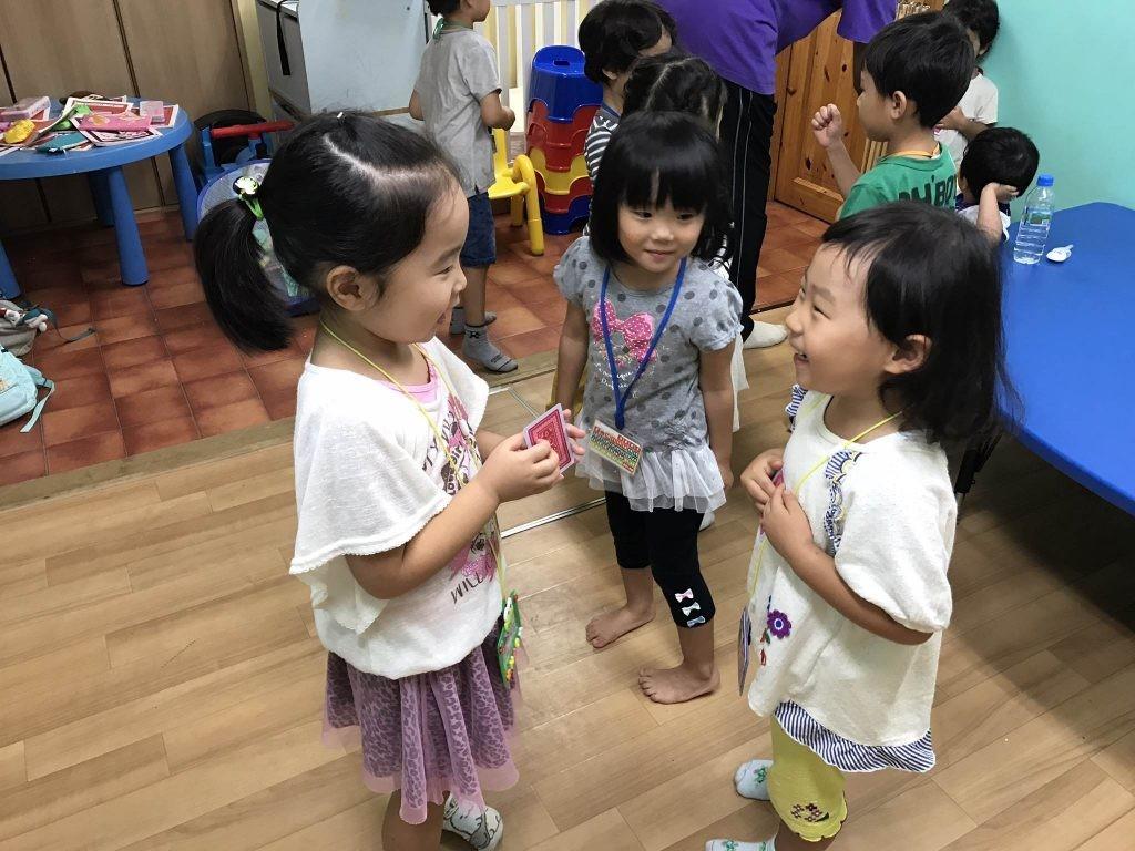 府中|英会話|午後の幼稚園クラス|9月のモチベーションウィークの様子!
