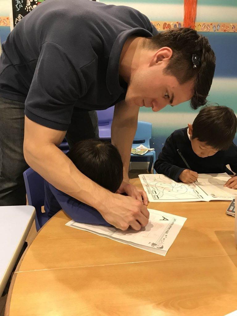 国分寺|英会話・幼稚園生|英語のライティング