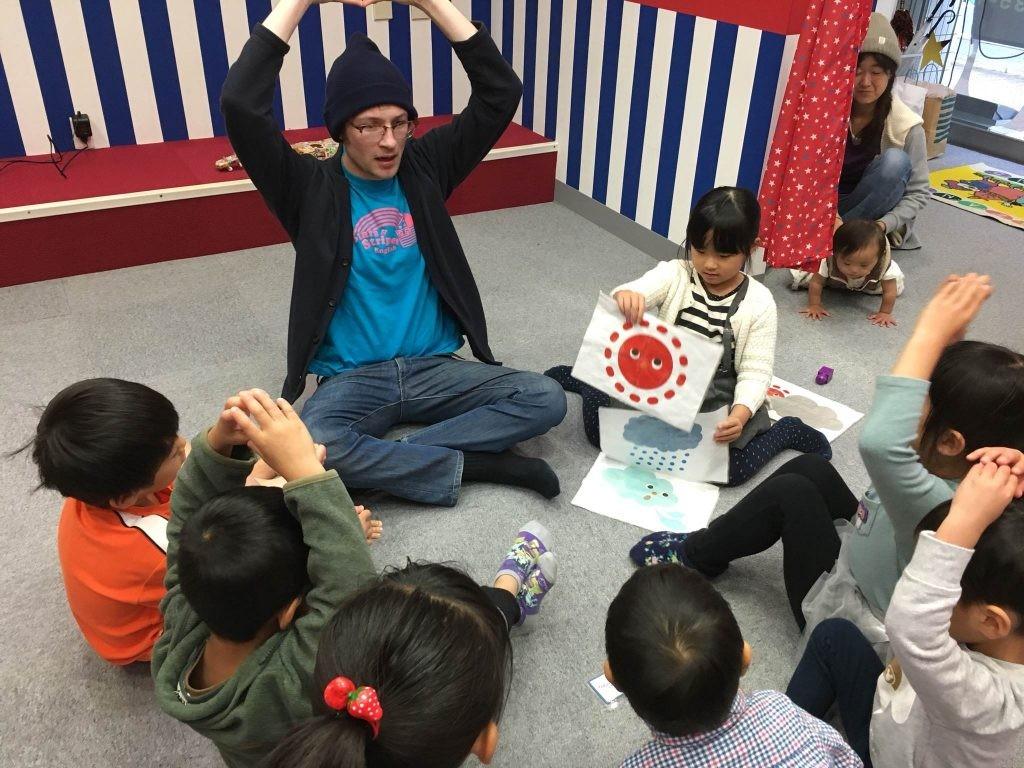 府中|英会話スクール・50分幼稚園クラス|11月のテーマ・色と形