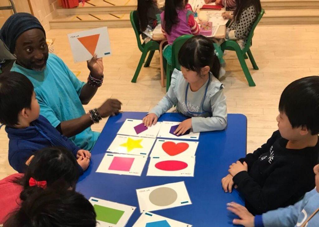 府中|英会話・土曜日の幼稚園クラス|Teacher Jackと楽しい土曜日!