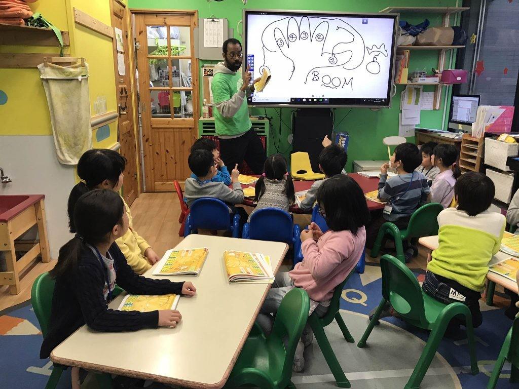 府中|英会話・小学生2時間クラス・インタージュニア|3月のテーマ!
