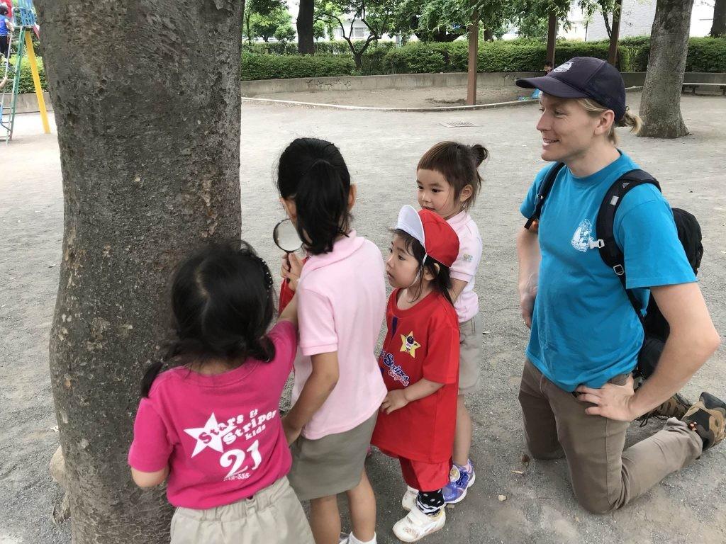 府中|インターナショナルキンダーガーデン|大好き公園遊び!