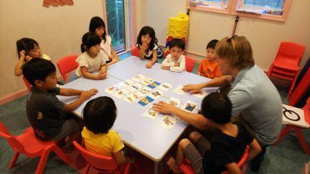 国分寺|英会話・土曜日幼稚園クラス|Teacher Grant
