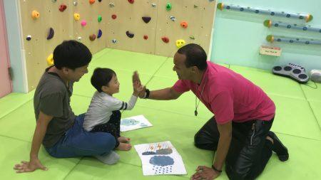 府中Station校|英会話・ショートコース(50分)・ベビークラスと幼稚園クラスの様子