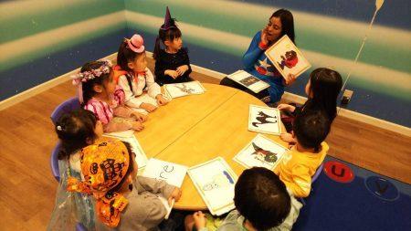 国分寺|英会話・午後の幼稚園生・小学生クラス|ハロウィンコスチュームウィーク