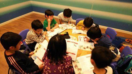 国分寺|英会話(小学生・上級クラス)|レッスンの様子