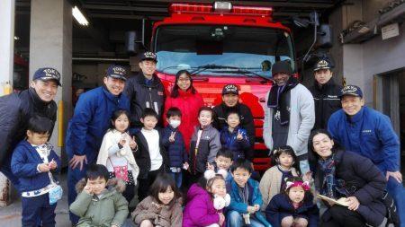 国分寺|インターナショナルキンダーガーデン|I want to become a fire fighter!