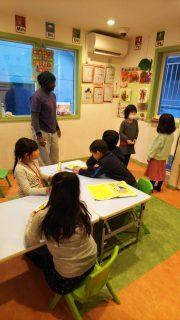 国分寺|小学生・英会話(2時間クラス)|レッスンの様子