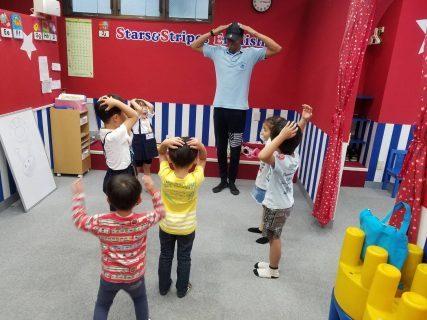 府中|英会話(午後の幼稚園ショートコース)|今月の英語の歌
