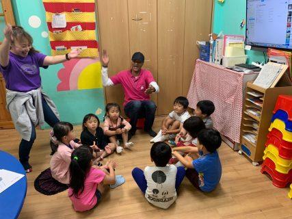 府中|英会話(午後の幼稚園クラス)|アフタヌーンキンダーの様子