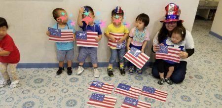 国分寺|インターナショナルプリスクール|Independence Day