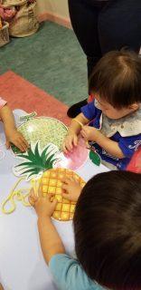 国分寺|インターナショナルプリスクール|水遊びとハンドモータースキル