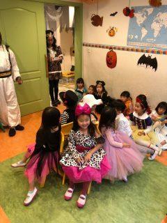 国分寺 インターナショナルキンダーガーデン Happy Halloween party