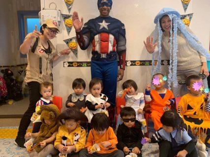 国分寺 インターナショナルプリスクール Halloween Week!