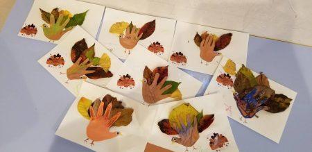 国分寺 インターナショナルプリスクール Thanksgivingクラフト