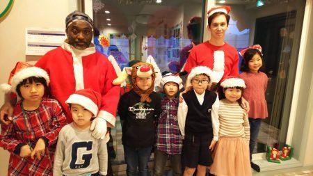 国分寺|英会話クラス(ベビー、幼稚園、小学生ショートコース)|12月の様子
