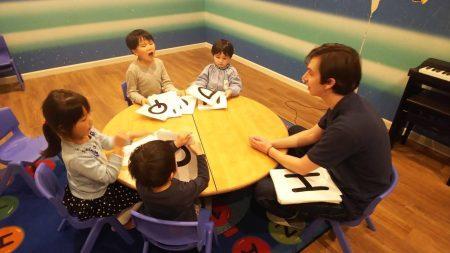国分寺|英会話(ショート・ロング)幼稚園クラス|2月の様子