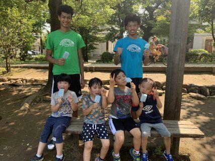 国分寺|小学生・英会話|スキルアップクラス(バスケ)の様子