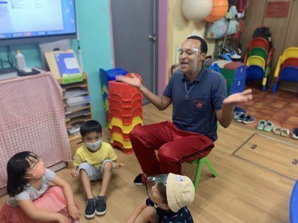 府中|英会話・幼稚園クラス|2020年8月26日水曜日アフタヌーンキンダーの様子